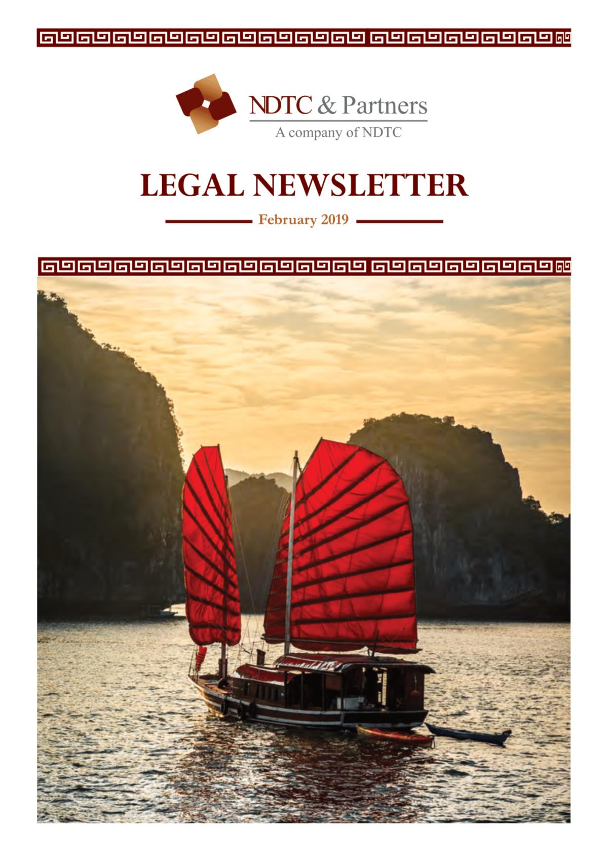Legal Update Feb 2019