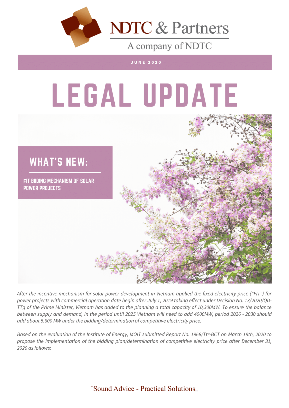 Legal Update June 2020
