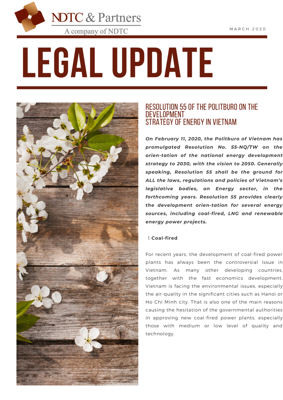 Legal Update Mar 2020