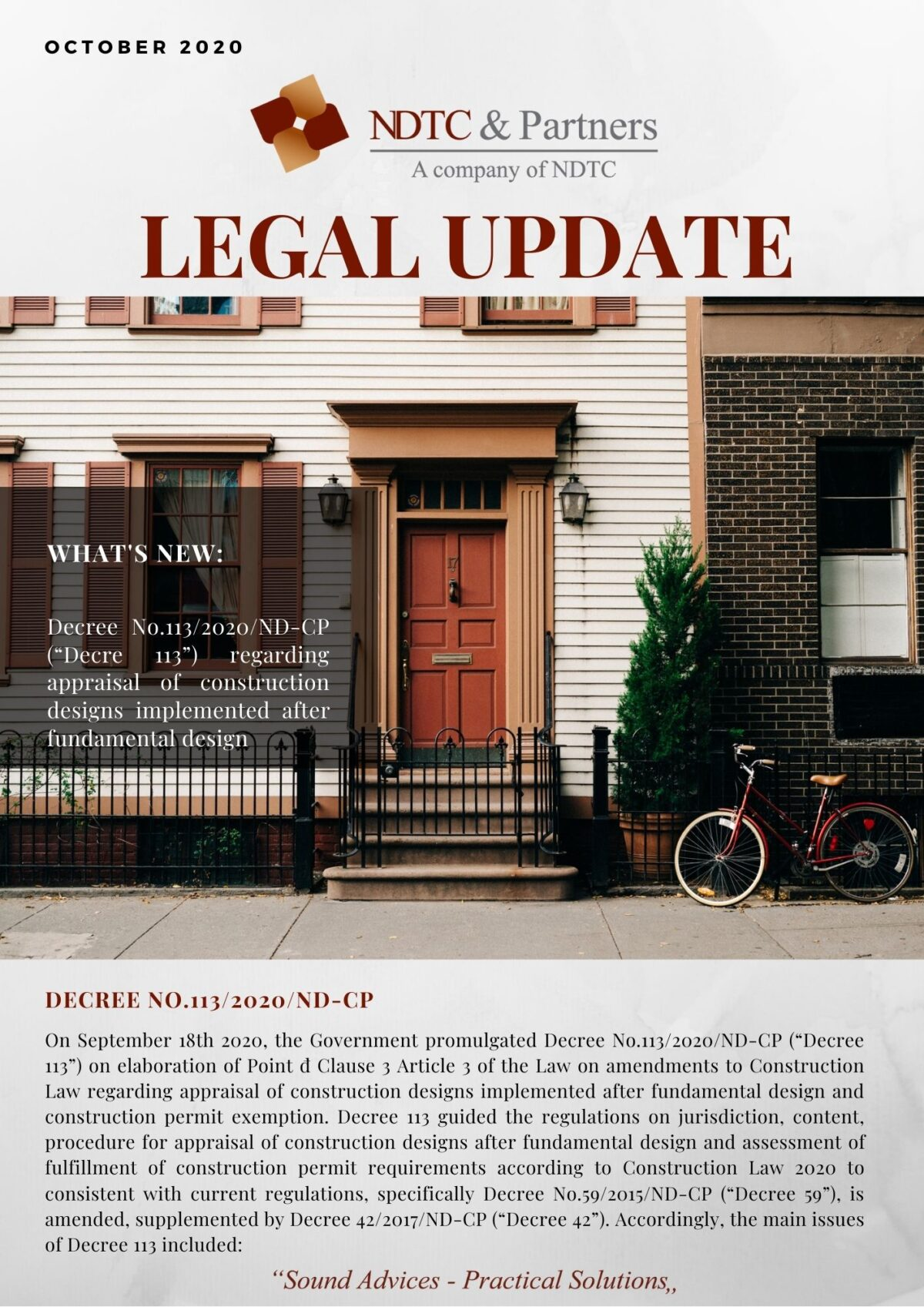 Legal Update Oct 2020